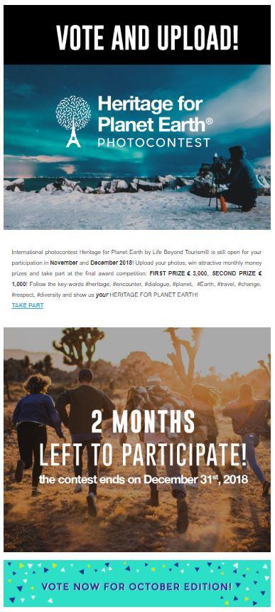 Advertising on lifebeyondtourism org | Life Beyond Tourism